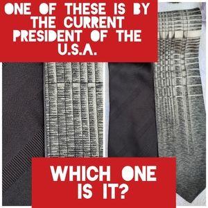 Vintage Bundle of Two American Designer Ties